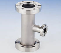 stainless steel reducted tee flanged coupling 2 1/8 - 8&quot;, 450 &deg;C MDC vacuum products