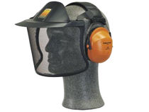 stainless steel safety face-shield 190 g, 33 dB | V40CH31A Peltor