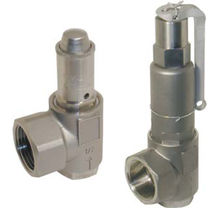 "stainless steel safety relief valve 1/2"" - 2"", 25 bar 