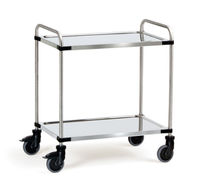 stainless steel shelf cart max. 120 kg fetra