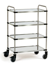 stainless steel shelf cart max. 160 kg  fetra