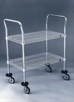 stainless steel shelf cart max. 1250 lbs LYON