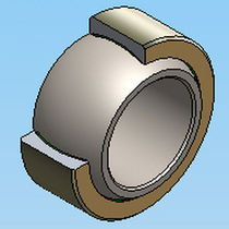 stainless steel spherical plain bearing ID : 15 - 300 mm, OD : 26 - 430 mm AST Bearings