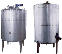stainless steel storage tank 300 - 10 000 L Weir & Harrod Packaging Machinery