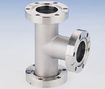 stainless steel tee flanged coupling 1 1/3 - 13 1/4&quot;, 450 &deg;C MDC vacuum products