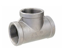 stainless steel tee threaded fitting DN 8 - 50, max. 20 bar | TE IMPEX