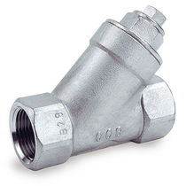"stainless steel Y-strainer 1/4"" - 3"", 800 psi 