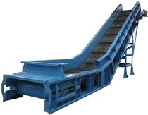 steel belt conveyor for scrap handling  OMT BIELLA