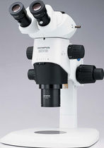 stereomicroscope with wide zoom range, large object field and working distance SZX10  Olympus Industrial