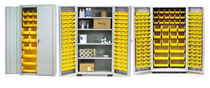 storage cabinet with bins 1850 series AGF