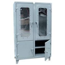 storage cabinet with transparent doors  Strong Hold Products