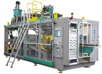 stretch blow molding machine for plastic bottles 160 Kg/h, 180 kN | 4000 S-660 TECHNE Technipack Engineering