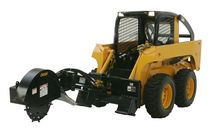stump cutter for skid steer loader  DIGGA