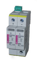 surge arrester type 2 for photovoltaic applications 20 kA, 100 - 1 000 V | ETITEC C-PV series ETI