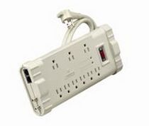 surge arrester type 3: power strip  Leviton