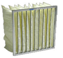 synthetic fiber pocket filter for air/gas  Airguard