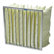 synthetic fiber pocket filter for air/gas Clean-pak Airguard