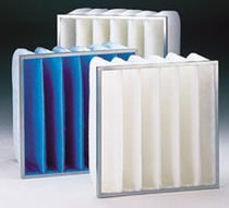 synthetic fiber pocket filter for air/gas  ACS Gesellschaft für Luft- und Entstaubungstechnik