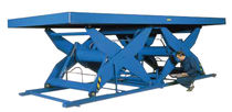 tandem scissor lift table 1 000 - 6 000 kg, 600 - 1 600 mm | EHL series Power-Lifts Limited