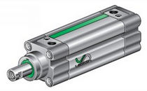 telescopic pneumatic cylinder ø 32 - 100 mm | AX1, AW1 series VESTA