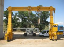telescopic rubber tired gantry crane MST 100 - 27 CIMOLAI TECHNOLOGY SpA