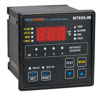 temperature monitor for transformer -40 - 200 °C | TIR409 + NT935IR  TECSYSTEM