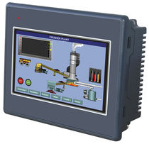 TFT color display touch screen operator terminal  Renu Electronics Pvt. Ltd.