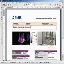 thermal image processing and report software  FLIR SYSTEMS