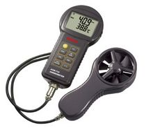 thermo-anemometer 0.5 - 45.0 m/s | AVM 715 Tecpel  Co., Ltd.