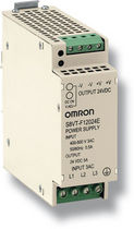 three-phase AC/DC power supply : DIN rail mounted converter S8VT-F  OMRON Electronics