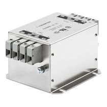 three-phase and neutral power EMC/EMI filter for industrial applications 8 - 160 A | FN 3256  SCHAFFNER EMC