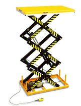 threefold scissor lift table 1 000 - 2 000 kg | HT series HU-LIFT