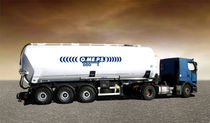 tipping silo trailer for powder and granulate max. 40 m³ | CR 40 OMEPS