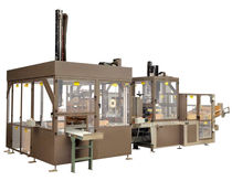 top loading case packer with combined functions max. 10 p/min | BantamPro ELSP Brenton Engineering