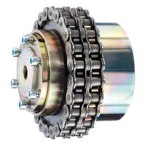 torque limiter with chain coupling 0.5 - 6 800 Nm | DA series DELTA Antriebstechnik GmbH