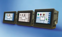 touch screen HMI terminal 5.7 - 12 "