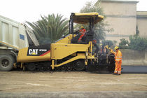 tracked asphalt paver 2.55 - 5 m | AP655D Caterpillar Equipment