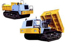 tracked dumper 2 500 kg | MST 300VD/300VDR  Morooka Co., Ltd.
