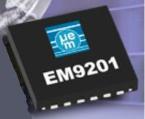 transceiver integrated circuit 2.4 Ghz | EM9201/02 EM Microelectronic Marin