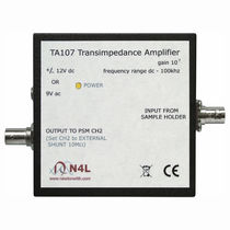 transimpedance amplifier (TIA) module DC - 100 kHz | TA107    Newtons4th Ltd.
