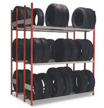 "transport rack for wheel storage 72"" x 15"" x 87"" 