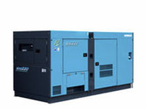 transportable diesel power generator set for building sites 250 l | SDG series AIRMAN HOKUETSU Industries CO.,LTD.