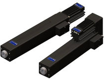trapezoidal screw linear electric actuator 125 IPM | ESBA Series Composite Motors, Inc
