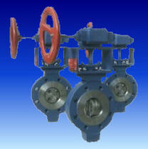 triple offset butterfly valve DN 50 - 800, max. 100 bar Tech-valves