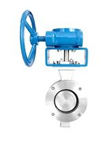 triple offset butterfly valve BW050D1-16C31Y36E Zhejiang Linuo Flow Control Technology Co., Ltd