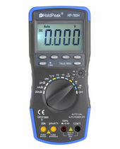 true RMS digital multimeter max. 20 A | HP-760H Zhuhai Jida Huapu Instrument Co., Ltd.