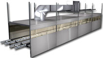 tunnel type curing oven  Gruber Systems Inc.