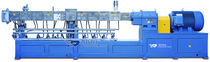 twin screw extruder &oslash; 75 - 90 mm| SHJ series Xinda Plastics Machinery