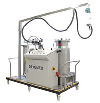two-component resin mixer-dispenser (static-dynamic mixer) UNIDOS 300 TX/MP 200 Putty Dekumed Kunststoff- und Maschinenvertrieb GmbH & C