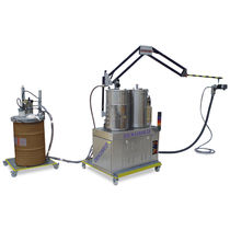 two-component resin mixer-dispenser (static-dynamic mixer) UNIDOS 300 MP Dekumed Kunststoff- und Maschinenvertrieb GmbH & C